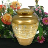 Personalized Pearl Urn