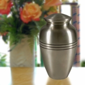 Personalized Pewter Urn