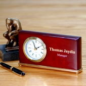 Personalized Piano Desk Clock