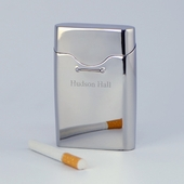 Personalized Polished Cigarette Case