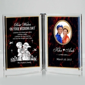 Personalized  Dual Frame Wedding AWD707-BP