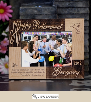 Personalized Retirement Frame