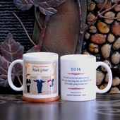 Personalized Retirement Party Mug for Him