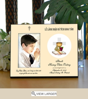 Personalized Sacraments of Initiation Vietnamese Frame