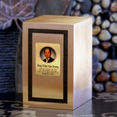 Personalized Solid Bronze Urns