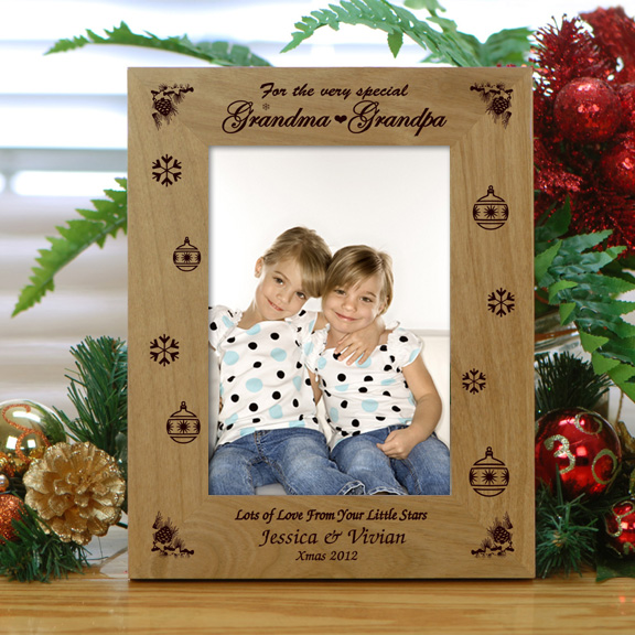 Personalized Special Wood Christmas Frame - Holiday Photo Frames