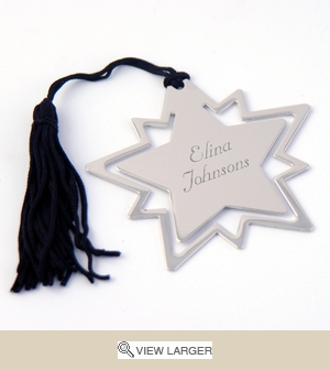 Personalized Star Bookmark