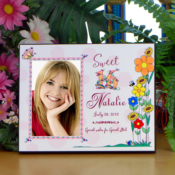 Personalized Sweet 16 Birthday Picture Frame - What\'s New