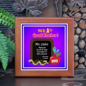 Personalized Teacher Frame  TTC645