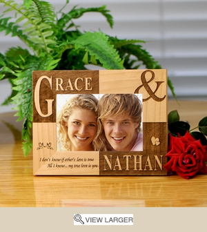 Personalized True Love Photo Frame