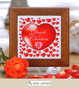 Personalized Valentine Heart