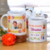 Personalized Valentine Photo Mugs