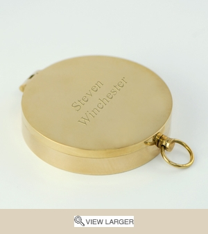 Personalized Victorian Pocket Compass