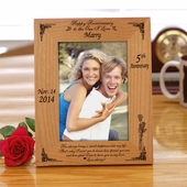 Special Personalized Anniversary Frame