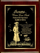 The Confident Graduate Personalized Plaque