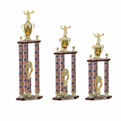 Three Columns USA Trophies