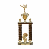 Two Columns Wood Trophy