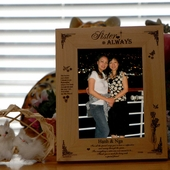 "Unique Picture Frame for Sister-Hold 4""x6"""