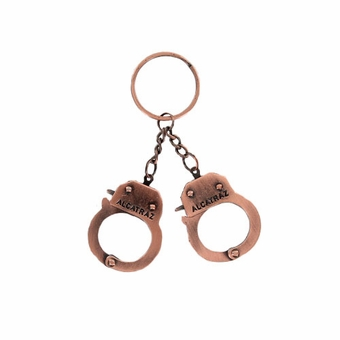 Alcatraz Mini Handcuff (Bronze)