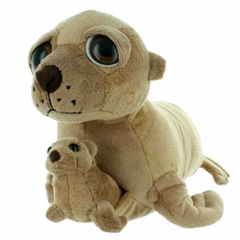 Plush Sea Lion With Baby
