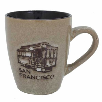 San Francisco Natural Glaze Mug: 12 oz