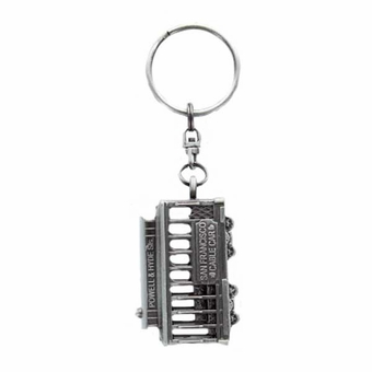 San Francisco Cable Car Pewter Key Chain