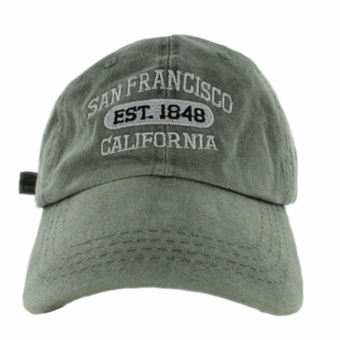 San Francisco EST. 1848 Unstructured Gray Hat