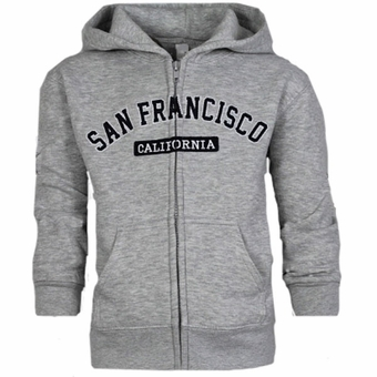 San Francisco Kids ZIG ZAG Design Grey Color.
