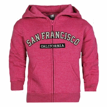 San Francisco Kids ZIG ZAG Design Fushcia Color