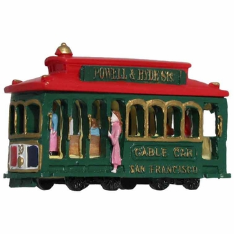 San Francisco Pink Lady Green Mini Model Magnet