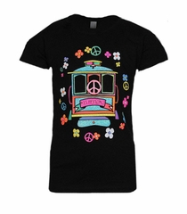 5d23c499 Vintage 6 Skateboard Kids t-Shirt Marine Blue. Price: $13.99. San Francisco  Rainbow Cable Car Tee