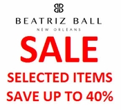 Beatriz Ball 1 Day Sale - Selected Items