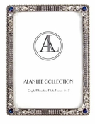 Alan Lee Imperial Collection 5 X 7 Picture Frame Bermuda Blue