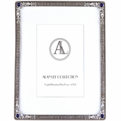 Alan Lee Imperial Collection 8 X 10 Picture Frame Bermuda Blue