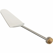 Alan Lee Imperial Collection Filigree Cake Or Pie Server Brass