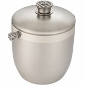 Alan Lee Imperial Collection Filigree Ice Bucket With Domed Lid Silver