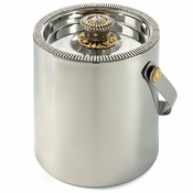 Alan Lee Imperial Collection Filigree Ice Bucket With Lid Brass