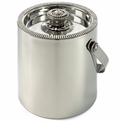 Alan Lee Imperial Collection Filigree Ice Bucket With Lid Silver