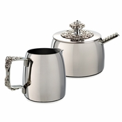 Alan Lee Imperial Collection Filigree Sugar And Creamer Set