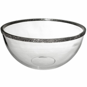 Alan Lee Princess Collection 11In Large Glass Bowl