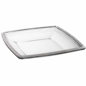 Alan Lee Princess Collection 11In Square Glass Dish
