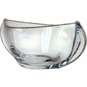 Alan Lee Princess Collection 12.5In Wide Contemporary Vase Bowl