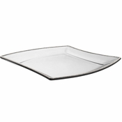 Alan Lee Princess Collection 13In Wave Glass Platter