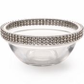 Alan Lee Princess Collection 3In Glass Bowl