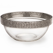 Alan Lee Princess Collection 5In. Stackable Glass Bowl