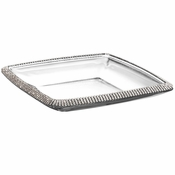 Alan Lee Princess Collection 7.5In Square Glass Dish