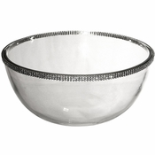Alan Lee Princess Collection 9In Glass Bowl