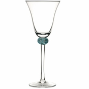 Alan Lee Princess Collection Classic Water Wine Goblet Crystal Ice