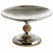 Alan Lee Princess Collection Footed Compote Gold