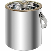 Alan Lee Princess Collection Ice Bucket With Lid Gold